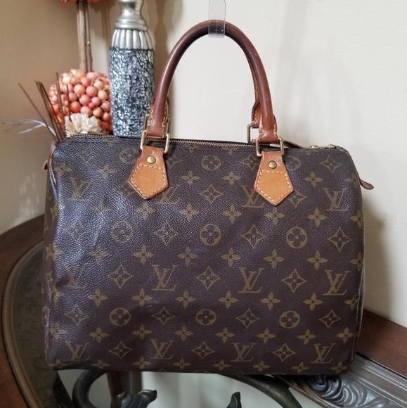 1d0a1144acece Louis Vuitton Handbags - Authentic Louis Vuitton Speedy 30